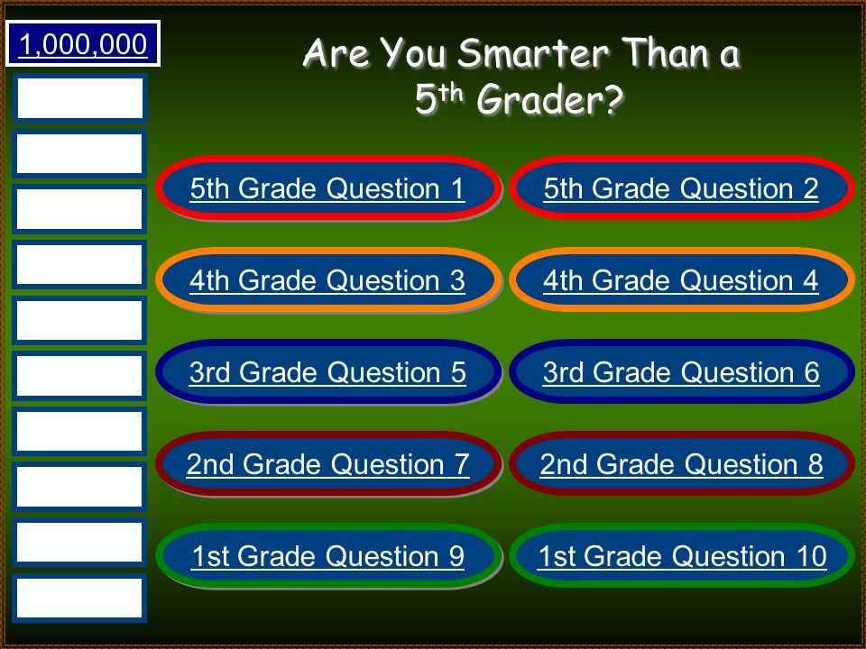 Are You Smarter Than Mr. Alder