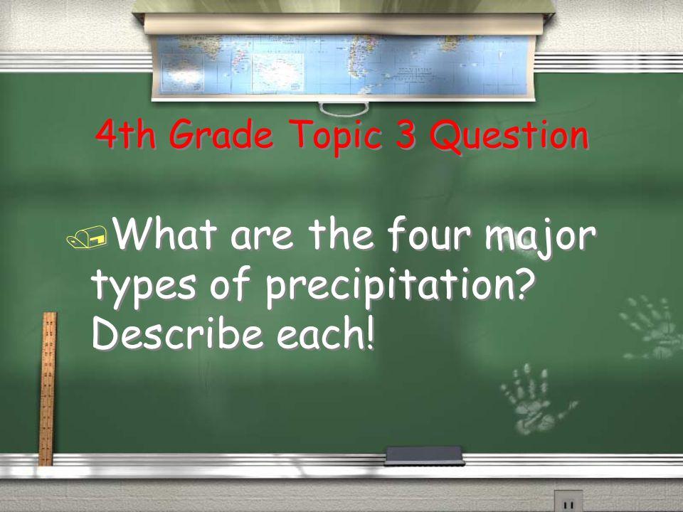 5th Grade Topic 2 Answer Return / The Sun!!
