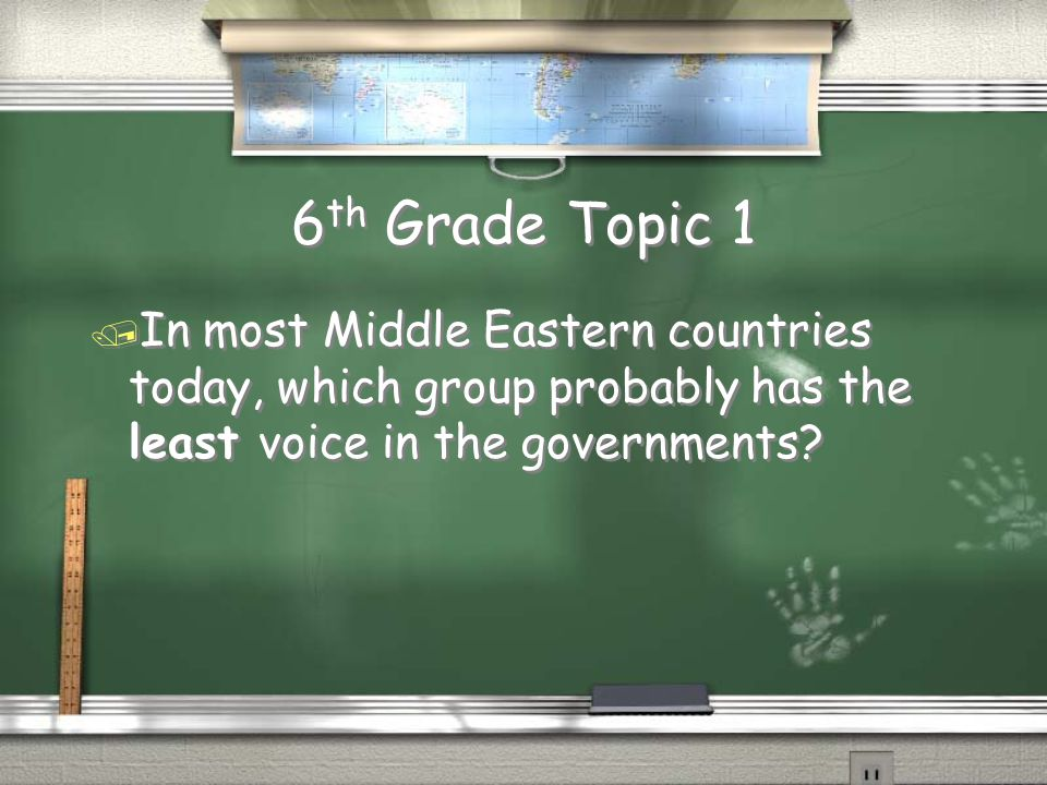 Million Dollar Question Grade Level Topic 11