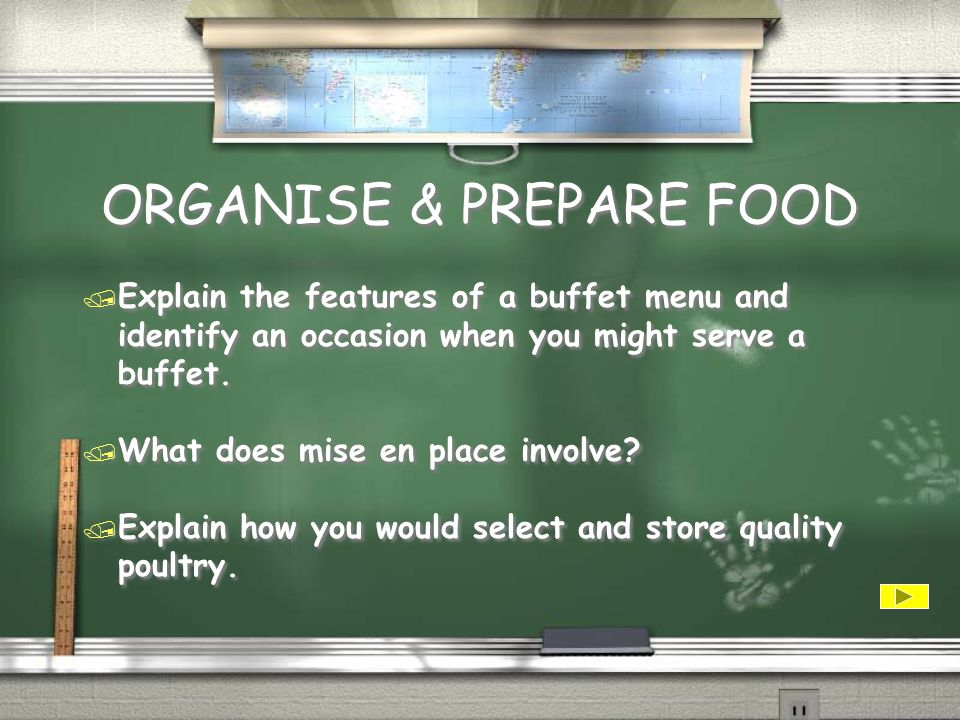 ORGANISE & PREPARE FOOD / Explain why it is important that a SRC is used in a commercial kitchen.