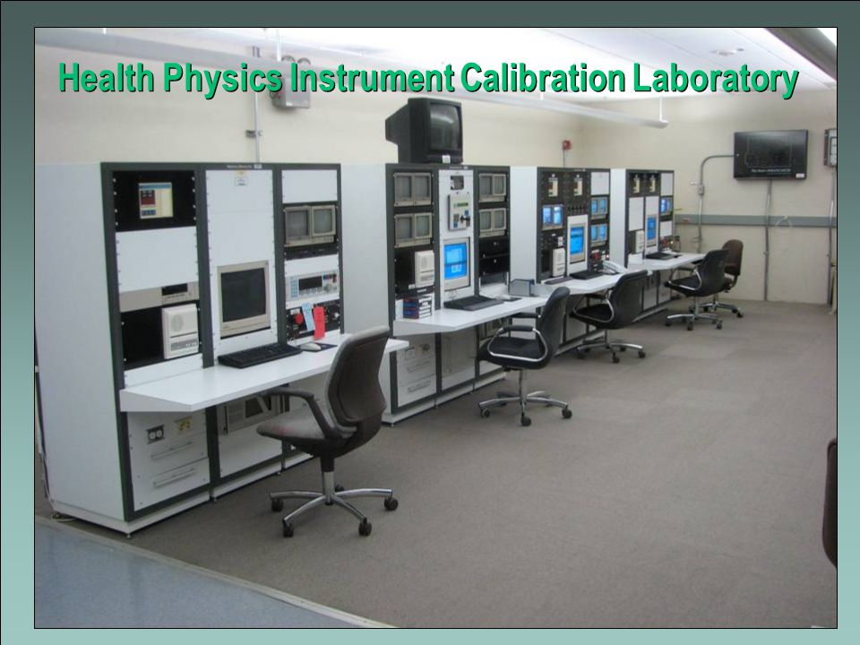 13 Health Physics Instrument Calibration Laboratory