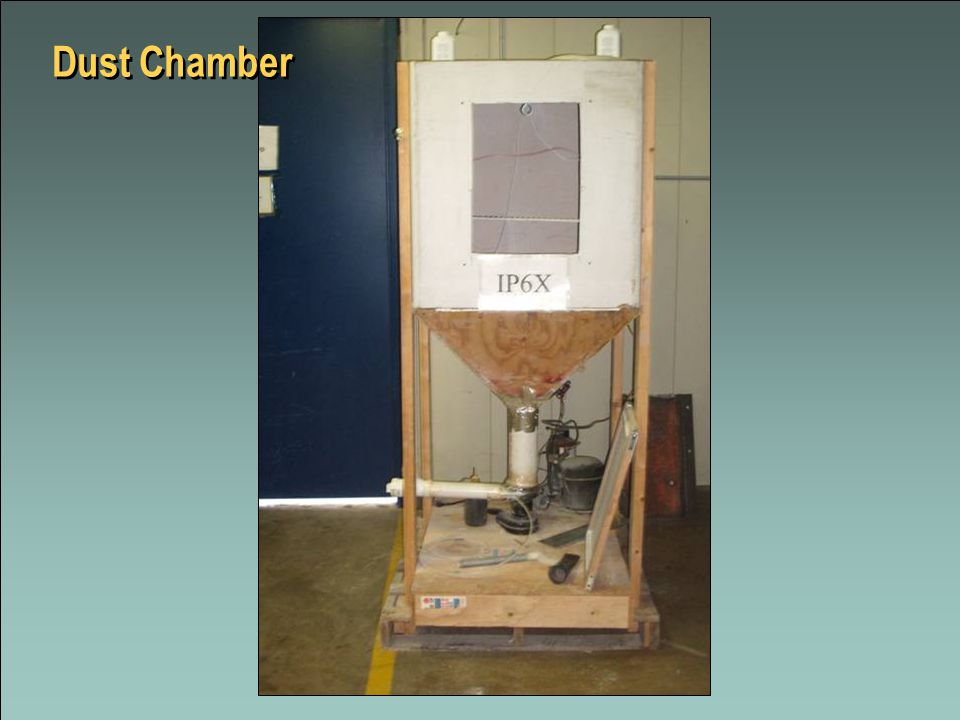 25 Dr Dust Chamber