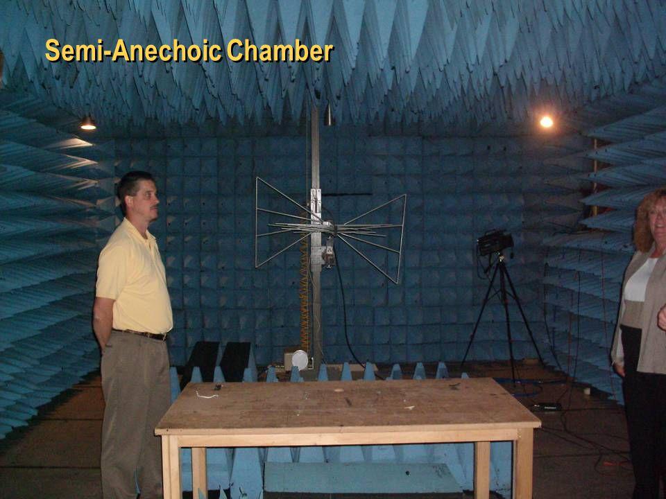 26 Semi-Anechoic Chamber