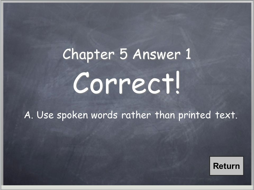 Chapter 3, Question 2 Representational Graphics are visuals that show qualitative relationships among content.