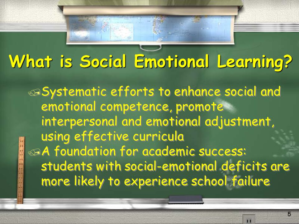 6 / Supports pupil's mastery of academic skills / Nurtures their emotional life / Teaches them how to get along well with others and make responsible decisions / Provides them with a strong moral compass / Promotes concern for others SEL Promotes Success for All Students