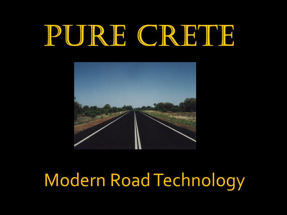 Modern Road Technology