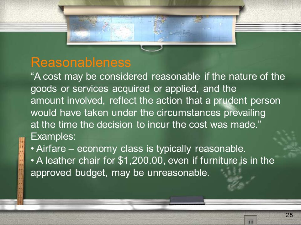General Philosophy of OMB Circular A-21 OMB Circular A-21 represents the federal government's attempt to define the total costs of sponsored project a
