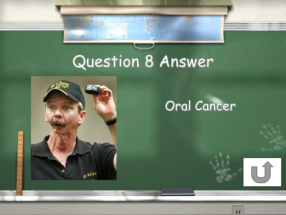 Question 8 Answer Oral Cancer Oral Cancer