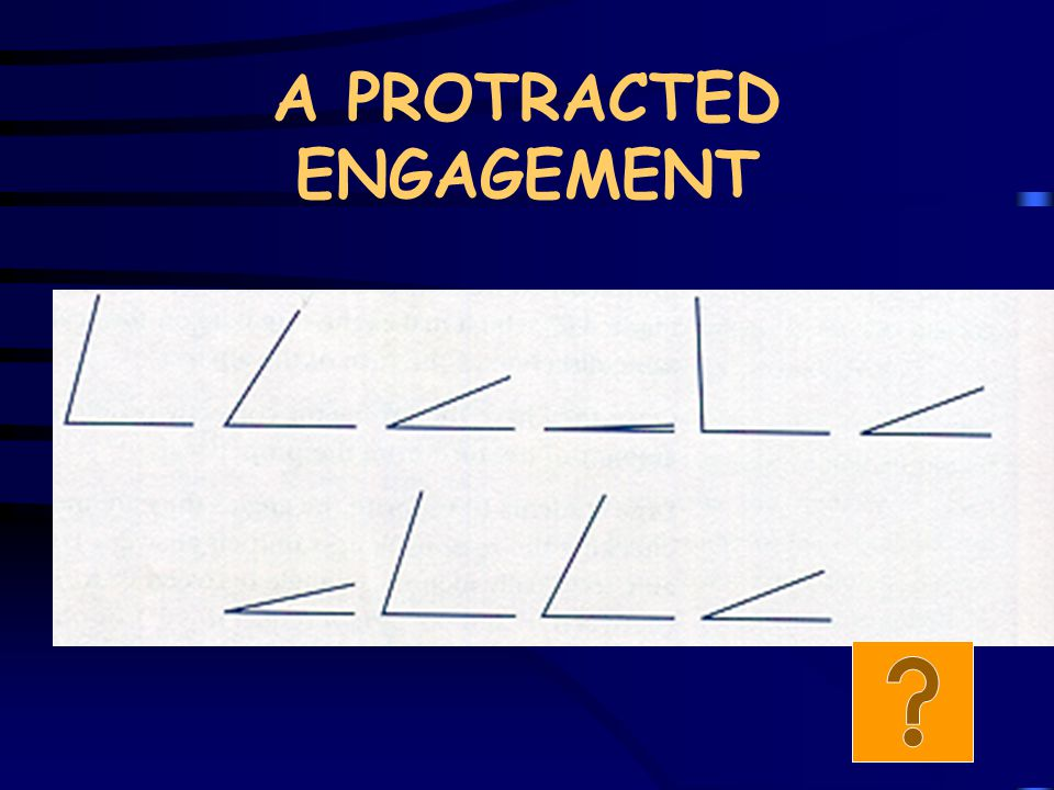 A PROTRACTED ENGAGEMENT