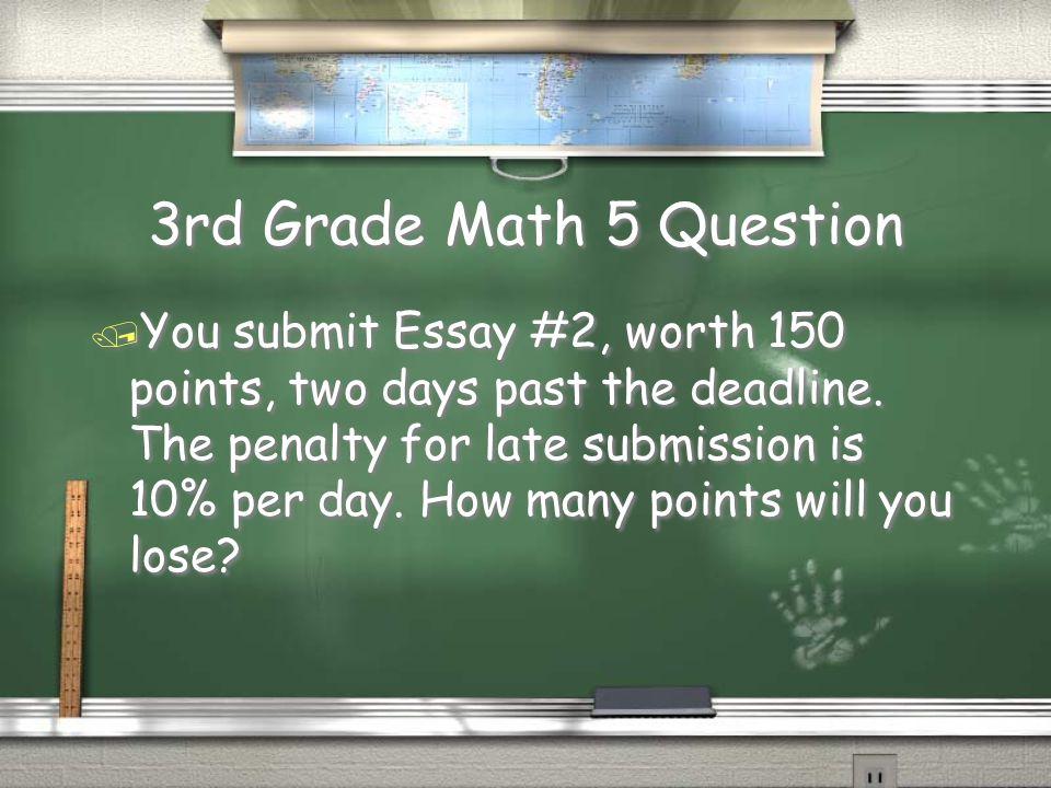 4th Grade Social Sciences 4 Answer / A disability Return