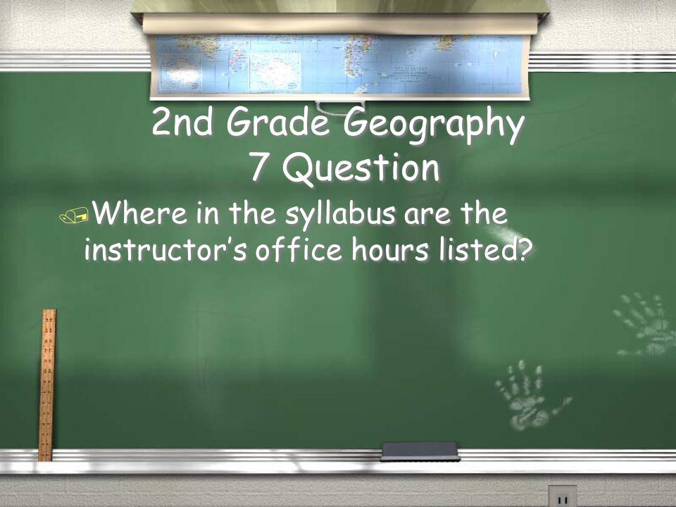 3rd Grade Math 6 Answer / 10 points