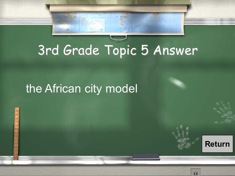 3rd Grade Topic 5 Question / This model has a prevalent colonial cbd