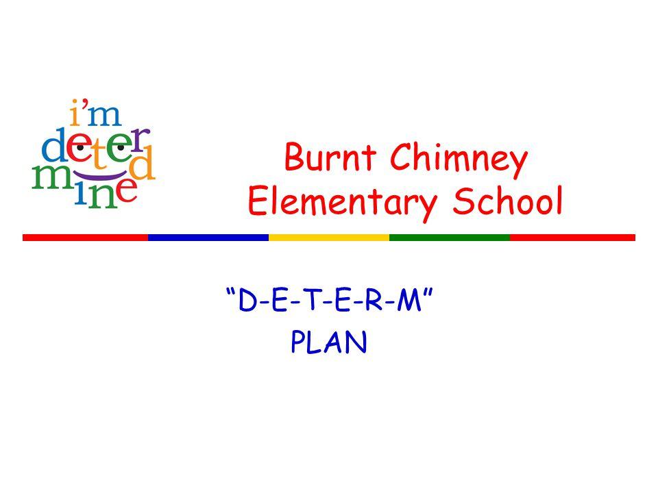 Burnt Chimney Elementary School D-E-T-E-R-M PLAN