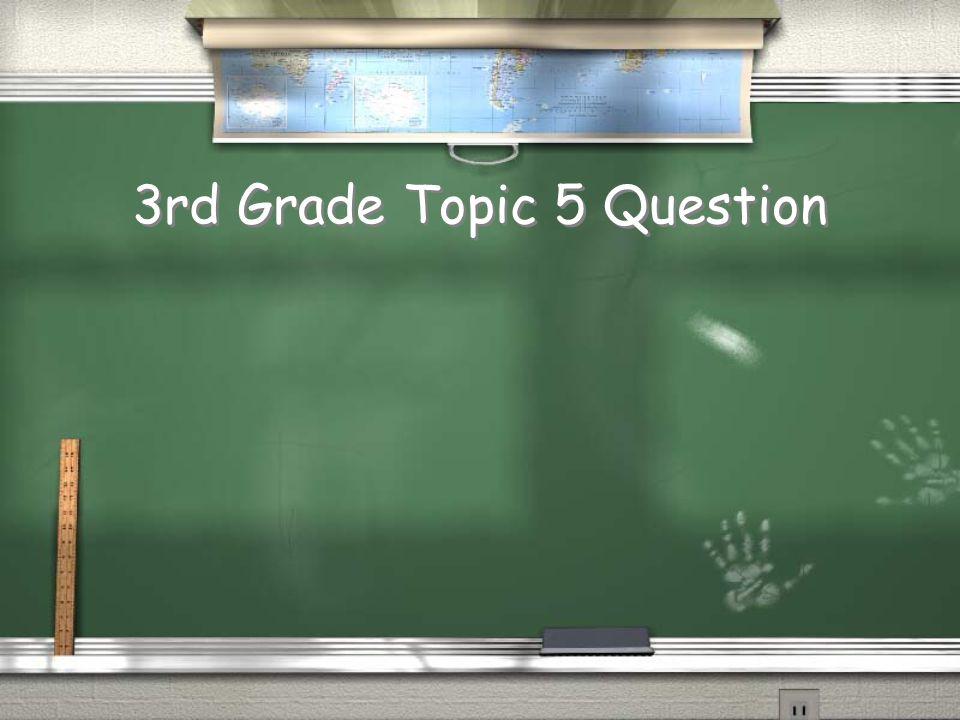 4th Grade Topic 4 Answer Return