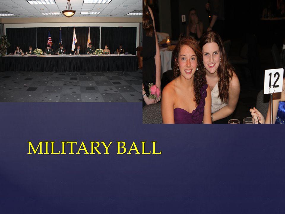 MILITARY BALL