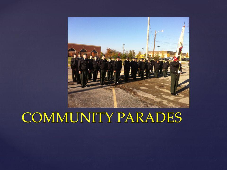 COMMUNITY PARADES
