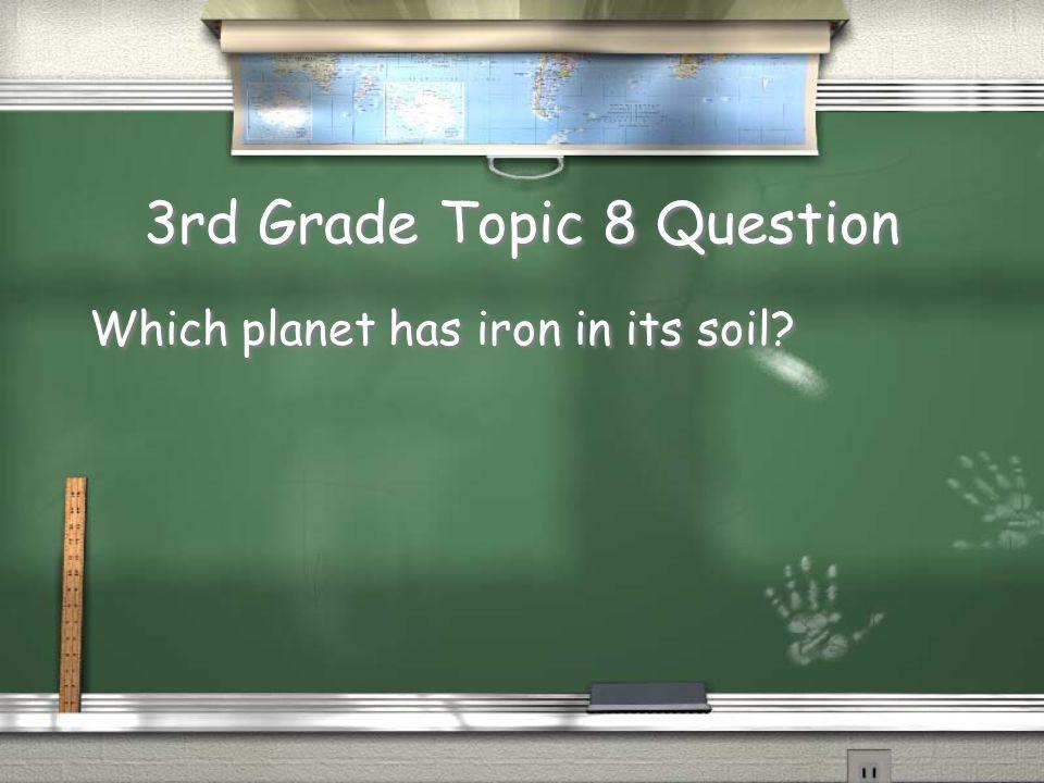 2nd Grade Topic 7 Answer Jupiter Return