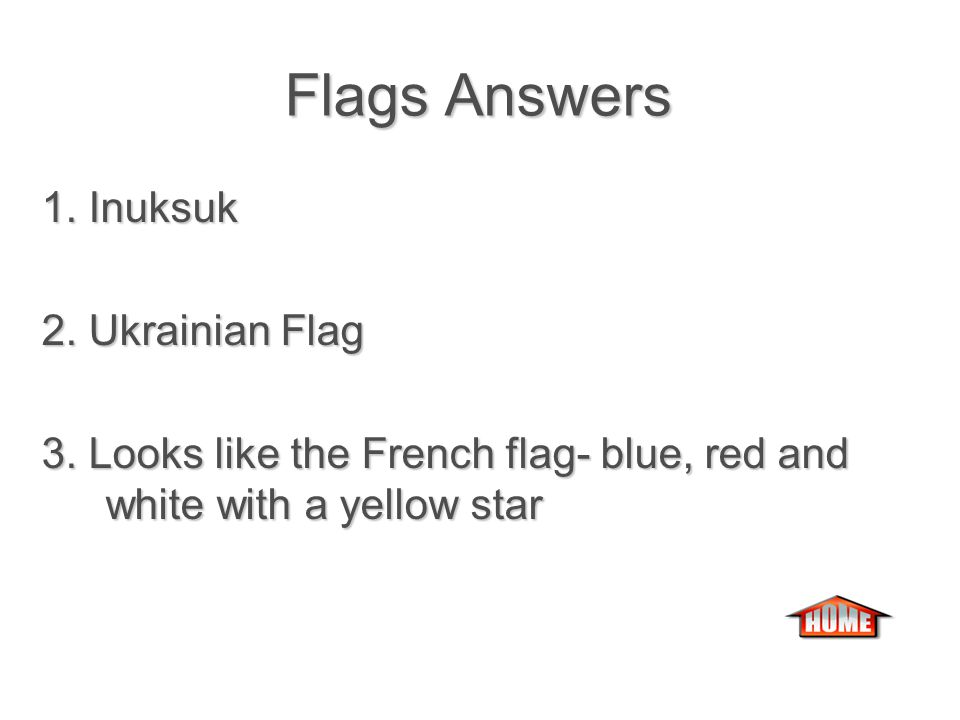 FLAGSFLAGSFLAGSFLAGS 1.What is in the center of the Nunavut flag.