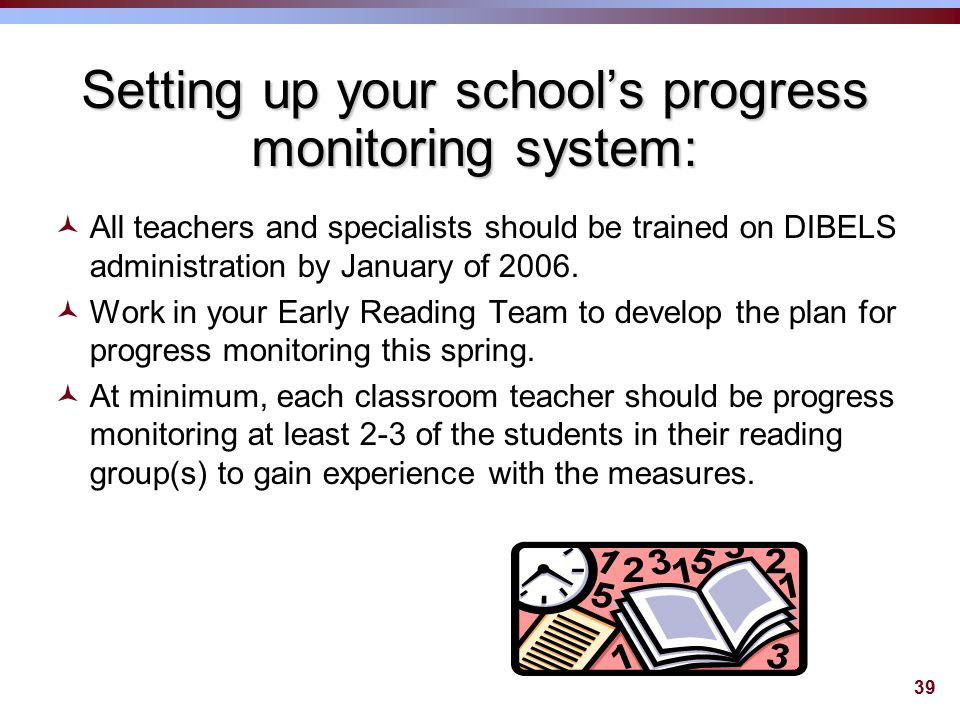 38 Let's look at your student data….