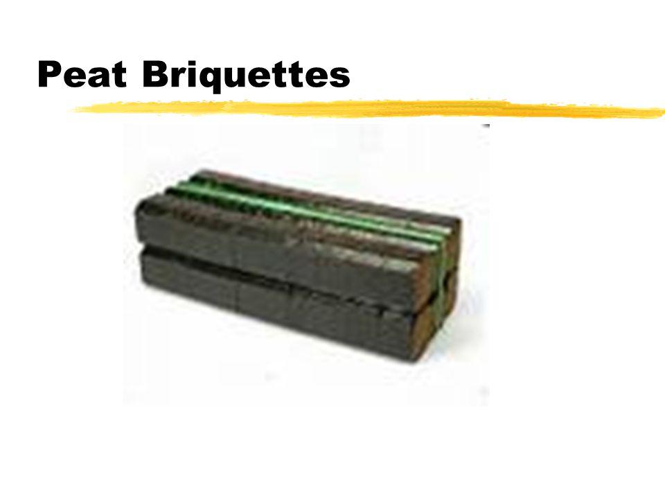 Peat Briquettes