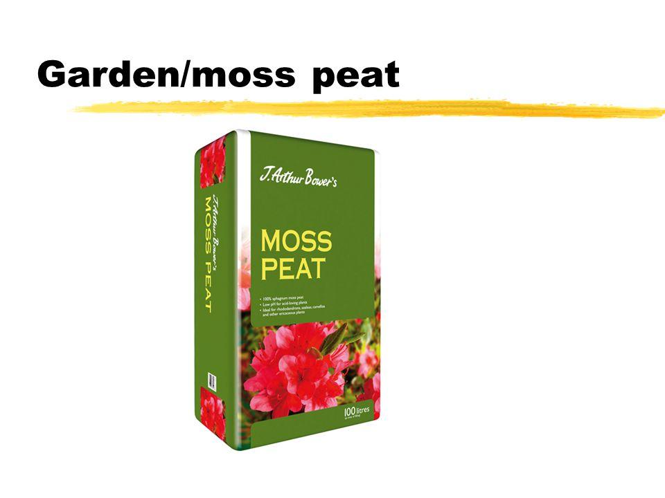 Garden/moss peat