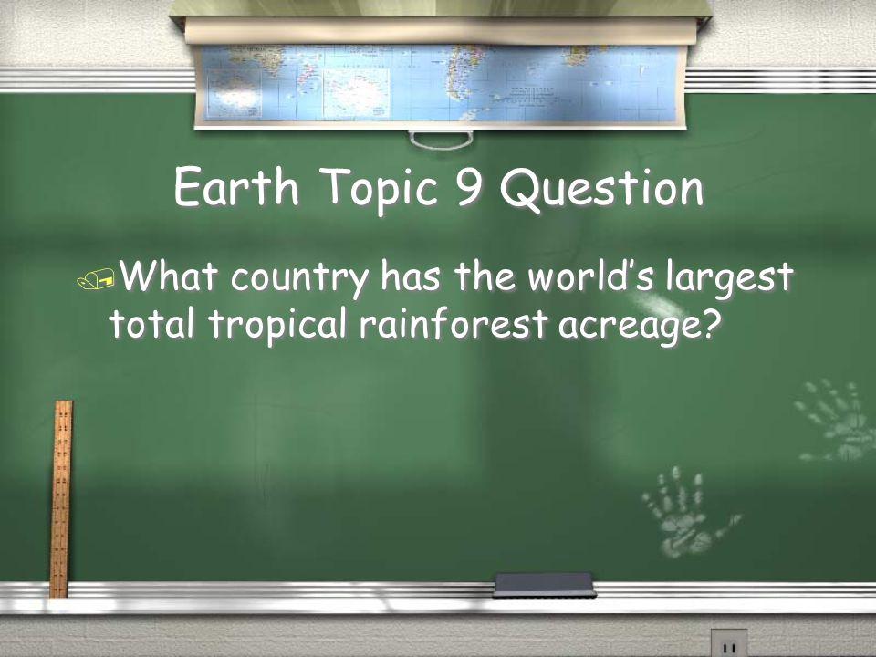 Species Topic 8 Answer / Lemur Return