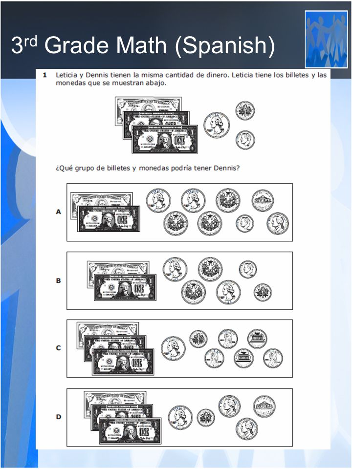 3 rd Grade Math (Spanish)