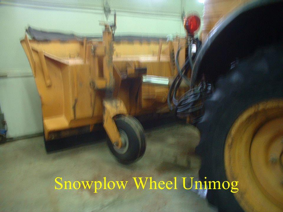 Snowplow Wheel Unimog