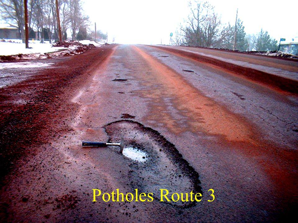 Potholes Route 3