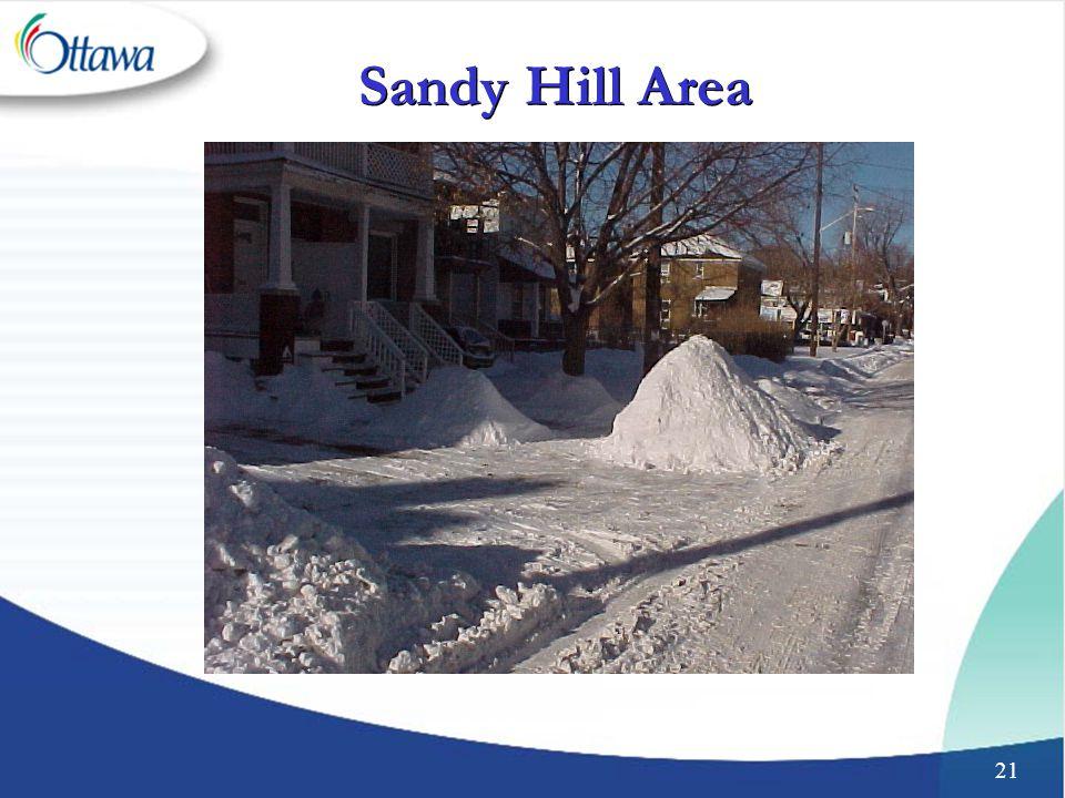 21 Sandy Hill Area