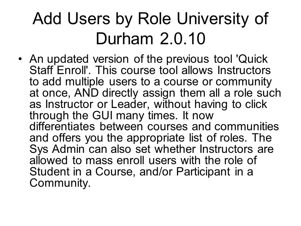 Advanced Group Management Florida State University 1.3.0 This Course Tool extension appears in the instructor s control panel and provides an alternative to Blackboard s built-in group management tools.