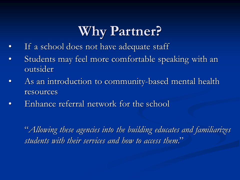 Why Partner.