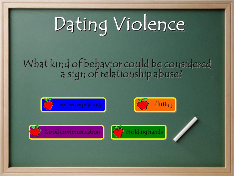 Million Dollar Question Dating violence and sexual violence is about: Power and control Drug/alcohol abuse love Money