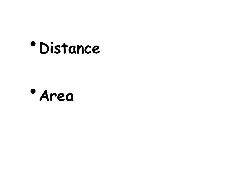 Distance Area