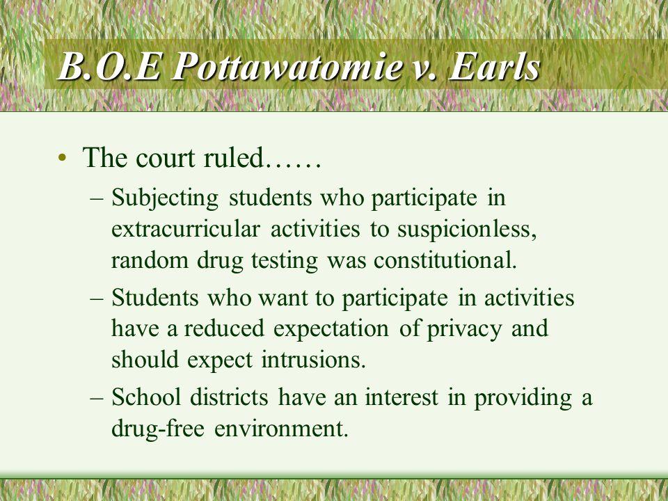 B.O.E Pottawatomie v.