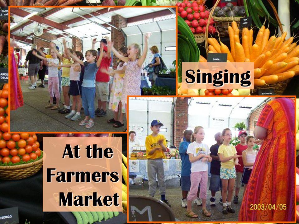 Singing At the FarmersMarket