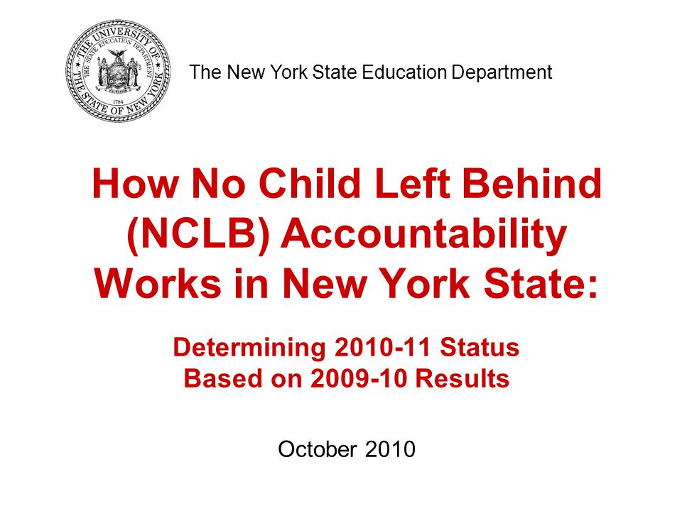 92 Failed AYP in 3-8 ELA in All Students group only in 2008–09 3-8 ELA 2009–10 Status: Improvement (year 1)/Comprehensive Overall School 2009–10 Status: Improvement (year 1)/Comprehensive Determination of 2010–11 Overall School Differentiated Accountability: Special Situation 3 Example A Failed AYP in 3-8 ELA in LEP group only in 2009–10 3-8 ELA 2010–11Status: Improvement (year 1)/Comprehensive Overall 2010–11 Status: Improvement (year 1)/Comprehensive Made AYP in all measures in 2009–10 3-8 ELA 2010–11Status: Improvement (year 2)/Comprehensive* Overall 2010–11 Status: Improvement (year 2)/Comprehensive* Failed AYP in 3-8 ELA (1st year) in 2007–08 3-8 ELA 2008–09 Status: Good Standing Overall School 2008–09 Status: Good Standing *Note that the school would have been Improvement (year 2)/Basic as it only failed for one subgroup, not including the All Students group.