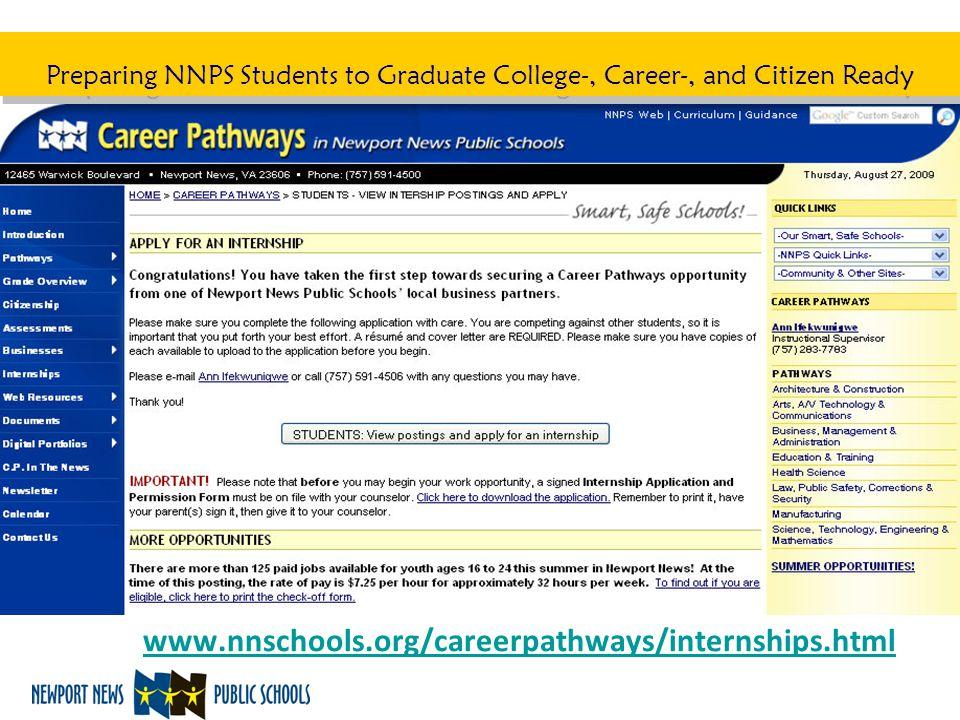 www.nnschools.org/careerpathways/internships.html