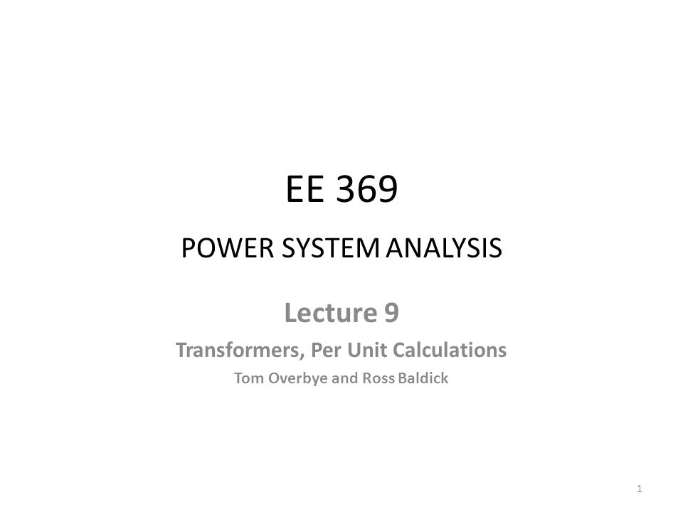 -  Connection: 3  Detailed Model To use the per phase equivalent we need to use the delta-wye load transformation 12