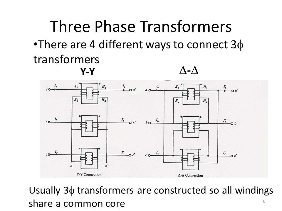 3  Transformer Interconnections  -Y Y-Y- 7
