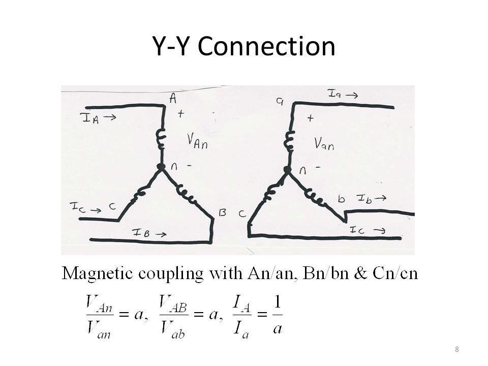 Y-Y Connection: 3  Detailed Model 9