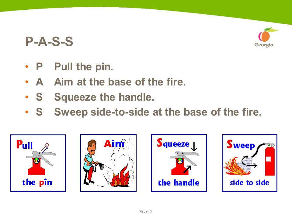 Page 12Presentation name | date Classes of Fire Class A wood, cloth, paper, cardboard Class B flammable or combustible liquids, gases Class C energized electrical equipment Class D combustible metal, chemical reaction Class K vegetable oils, animal oils, or fats