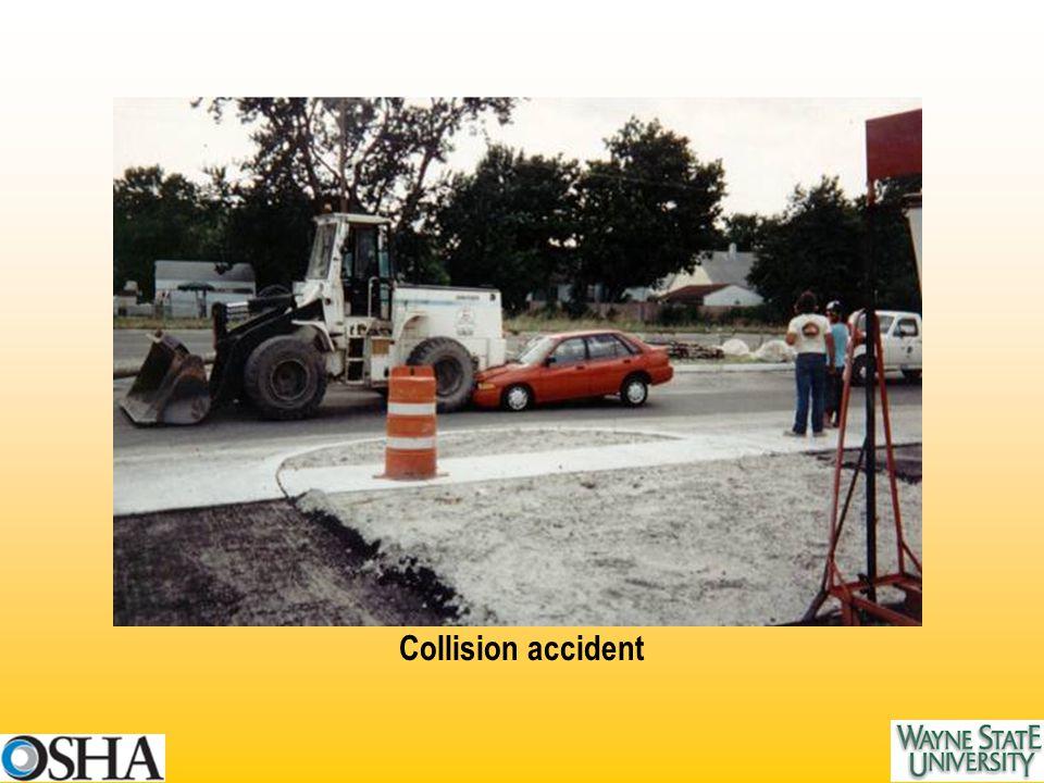 Collision accident