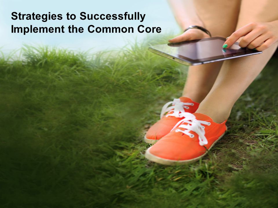 Strategies to Successfully Implement the Common Core