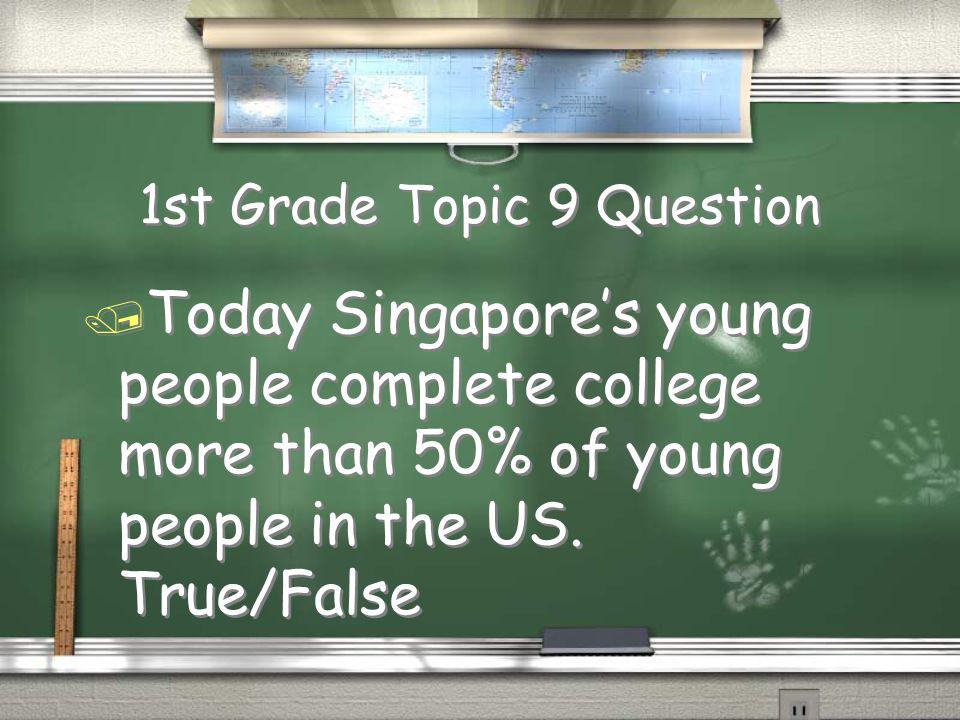 2nd Grade Topic 8 Answer / English Return