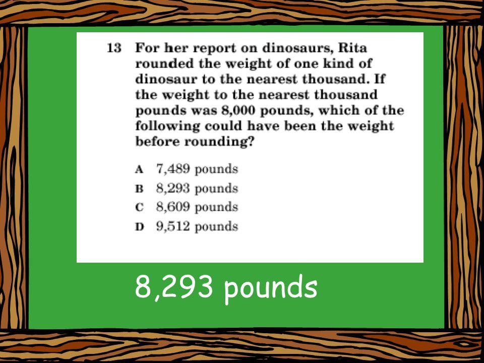 8,293 pounds