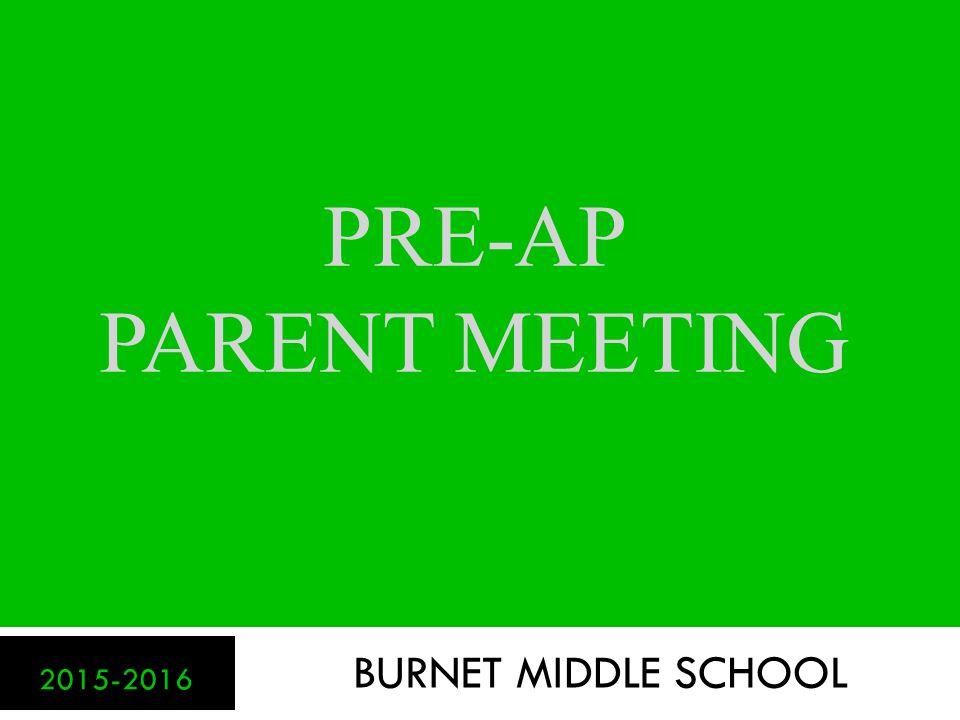 What is Pre-AP.