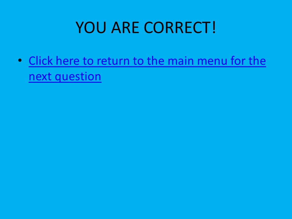 TRY AGAIN! Click here to try again