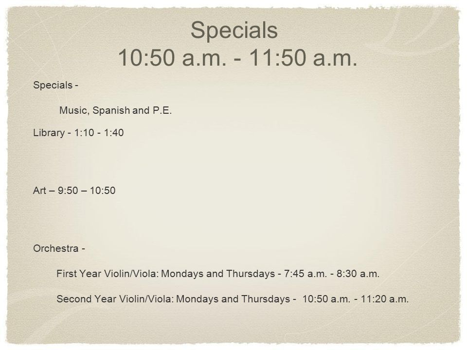 Recess and Lunch 11:50 a.m.- 12:30 p.m.