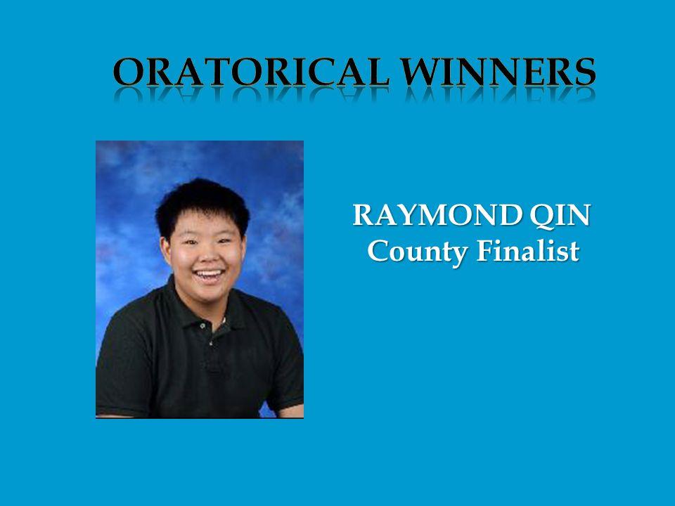 County Finalist County Finalist